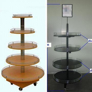 display stands round