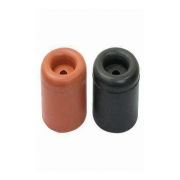 China Cheap Price SBR Rubber Door Stop With Black Or White Color  Manufacturer