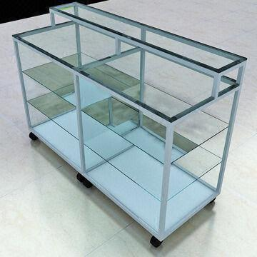 display stands glass