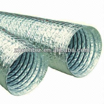 China 150 6 Inches Flexible Aluminum Foil Air Duct 6inches Is Supplied By Manufacturers Producers