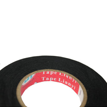 china auto wire harness cotton electrical insulation/duct tape with 0 25 to  0 3mm thickness