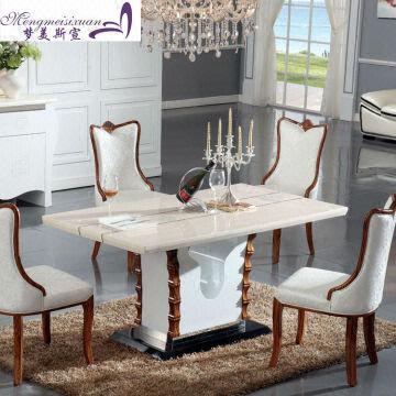 Rectangle Dining Table 2013 Most Popular Elegant Design Fashionable Marble Dining Table Global Sources