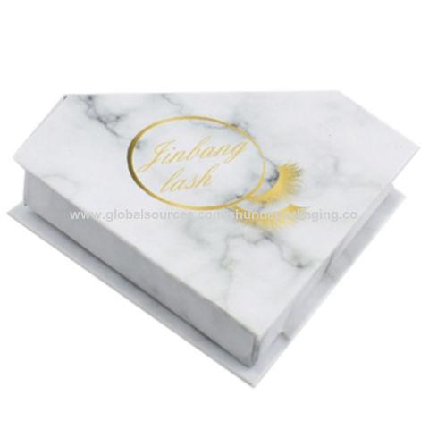 china custom high quality diamond shape eyelashes packaging retail