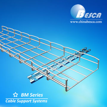 Stainless Steel Wire Mesh Cable Tray/Wire Basket Cable Tray ...