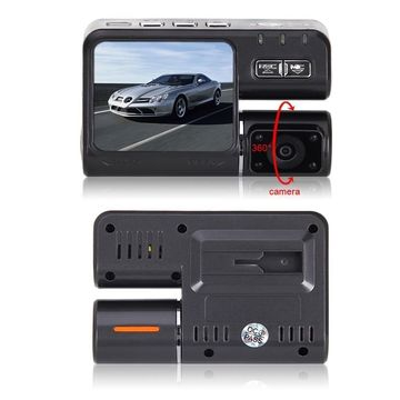 Cheap Wholesale HD 1080P Dual Lens Car DVR With Rear View Camera
