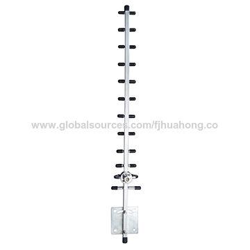 China 2 4GHz 12 dBi 12 elements Yagi Antenna/WiFi outdoor antenna on