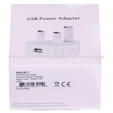 33696ff605a China Auténtico para el iPhone 6 7 8 adaptador del iPhone de Apple 5W USB  del ...