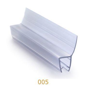 ... China Free Sample Bathroom Accessories Plastic Door Seal