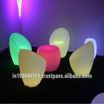 ... India Led Outdoor Furniture /led Lounge Chair Set / Light Sofa Set /  Light Bar