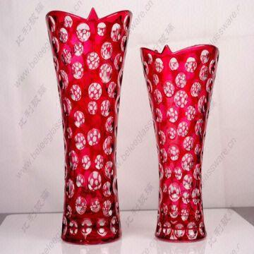 272 Cased Red Color Flower Vase Global Sources