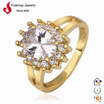 Imperial gold jewelry rings wedding arabic engraved ring FPR603