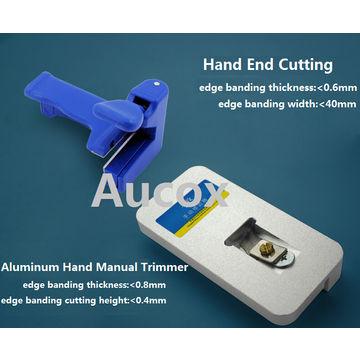 Hand End Trimmer Bendable melamine paper veneer plastic PVC
