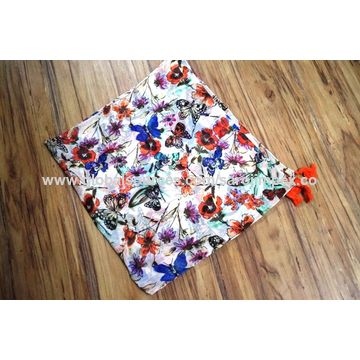 India Cotton printed scarves, 100% cotton with unique design, color & fashionable