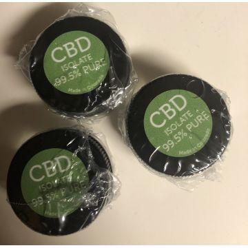 99 7% Pure Natural CBD Crystal Isolate Powder - EU Made