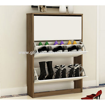 China Hot Living Room Furniture Shoes Rack Cabinet Wooden