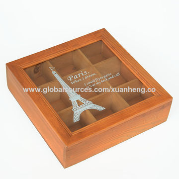 China Wooden Packaging Gift Box For Olive Oil Bottle From Ningbo