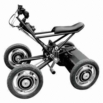 China 4 Wheel Central Seaway Electric Scooter With 1 000w And 800w Hub Motor