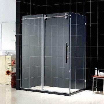 Sliding Shower Enclosure with 12mm Safety Shower Glass and Single ...