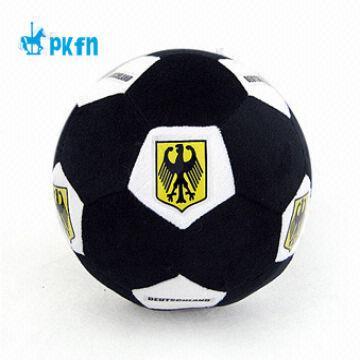 160115b22b1 Products from Peak Slippers (Jiaxing) Co. Ltd. China PKFN plush soccer  ball