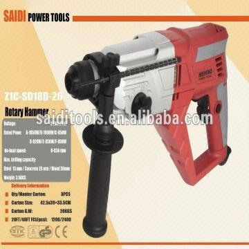 1050w Ffu Good 4 Function 26mm Rotary Hammer - | Global Sources