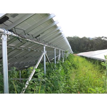 China Solar Energy Ground Mounting System, 10-60° Tilt Angle