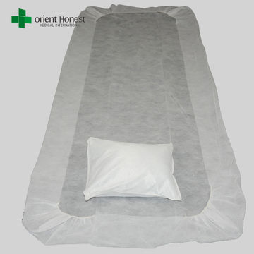 10Pcs Disposable Bedsheets Breathable Nonwoven Bed Sheets for Hospital Salon SPA