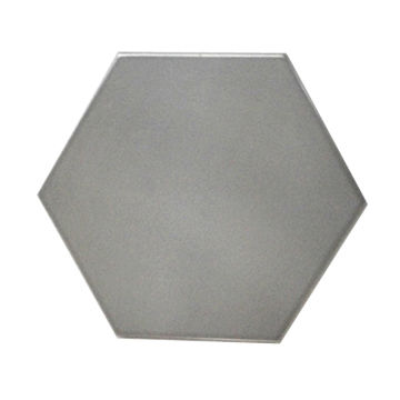 Full Grey Color Hexagonal Ceramic Tile Hot Sale Used For Background - Colored ceramic tiles for sale