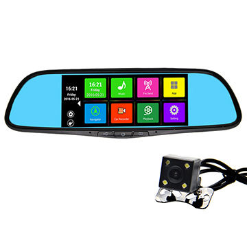 China Android System 44 User Manual Hd1080p Car Rear View Mirror