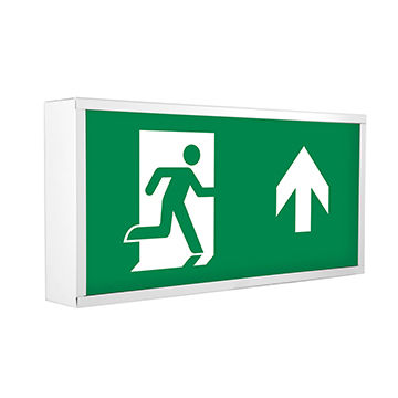led emergency exit signs exit box with self test dali driver 6 8w