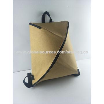 975ef1029 ... China Bolsa de papel de Kraft, tarjeta de presentación lavable  reutilizable del estilo simple de ...