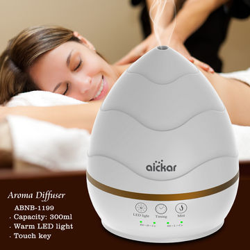 China Pearl white essential oil electric aroma diffuser ABNB-1199