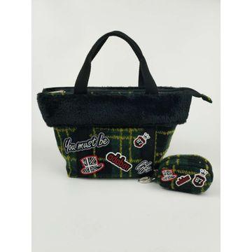 China Handbags, OEM/ODM, made of 100% polyester wool
