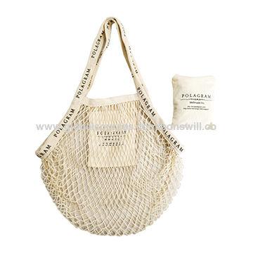 e210bba78c7 China 2019 new fashion mesh bag cotton shopping bag fishnet shopping ...