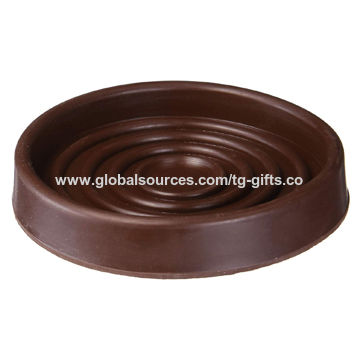 China Non Slip Rubber Furniture Wheel Gripper Caster Cups To Protect Floor Surface