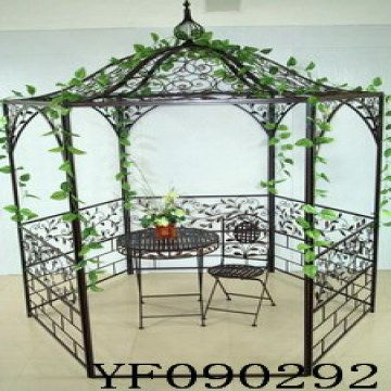 Brilliant Metal Pavilion With Table Chair Pavilion Bistro Sets Download Free Architecture Designs Licukmadebymaigaardcom