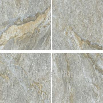 Stone Look Ceramic Tile Wall And