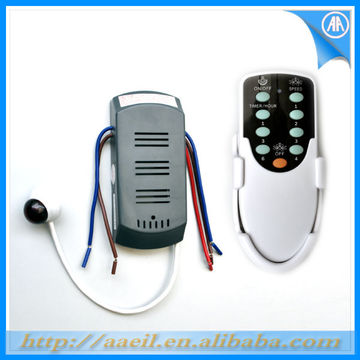 China Rf Wireless Ceiling Fan Remote Control Kit With Ce Certificate