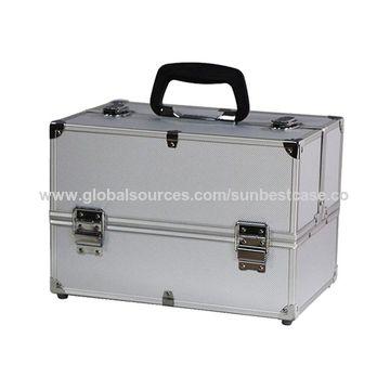 Portable Aluminum Beauty Vanity Case Makeup