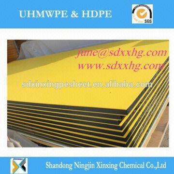hard plastic board two color ,UV resistant hdpe two colored plastic ...