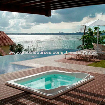 Wood Plastic Composite Outdoor Deck Flooring With Ce Sgs China Supplier Wpc Swimming Poo Global Sources