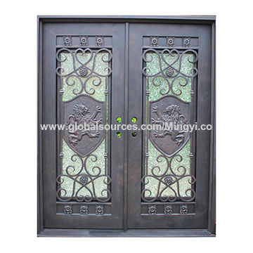 Wrought Iron Exterior Door China Wrought Iron Exterior Door