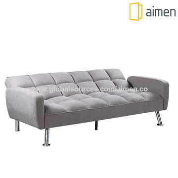 China Double Sofa Bed Leather Sleeper, Double Leather Sofa Bed