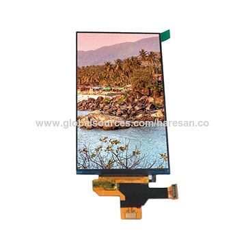 China 5inch AMOLED Display Module with 720xRGBx1280 Resolution, MIPI