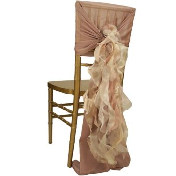 Excellent Best Sale Chiffon Organza Wedding Chair Cover Rental Chair Pdpeps Interior Chair Design Pdpepsorg