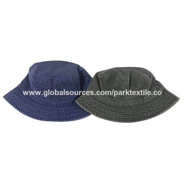 7616f68b22d China Reversible bucket hat in coated twill fabric on Global Sources