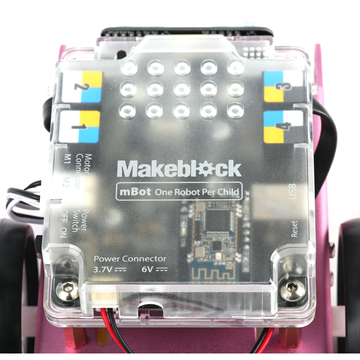 China MBot-Pink (2.4G Version) Educational robot kit for learning, designed for STEM education