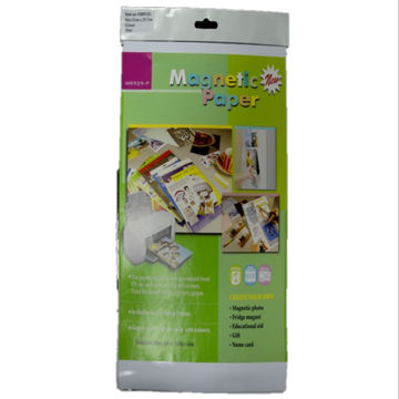 taiwan 2 piece magnetic paper available for any inkjet printer on
