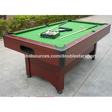MDF Wooden Billiard Table China MDF Wooden Billiard Table