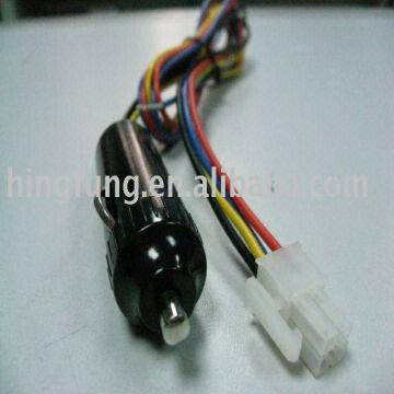 cigar lighter cable cigar patch cord car wire harness car cigarette rh globalsources com car cigarette lighter adapter wiring diagram car cigarette lighter receptacle
