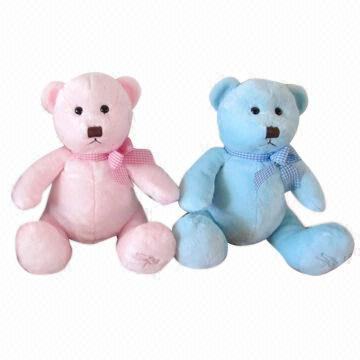 Plush Teddy Bear Available In Blue And Pink Color Global Sources